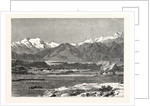 View of Yangi Hissar, at the Foot of the Pamir Chain by Anonymous