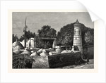 Cemetery at Khiva by Anonymous