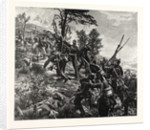 Attack on the Spicheren Mountain Led by General Francois on 6 August 1870, France by Anonymous