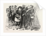 In the Camp of Chalons: The Sutler, France by Anonymous