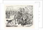African Troops in the Camp of Chalons, France by Anonymous