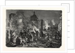 Bivouac of French Troops on the Night of 1 to 2 December at Champigny, France by Anonymous