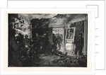 Fight in Bazeilles. The Last Cartridge. of De Neuville, France by Anonymous
