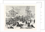 Disarmament of Bourbaki Troops at Verrieres on February 1, 1871, Switzerland by Anonymous