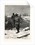 In Snow on the Ramparts by Anonymous