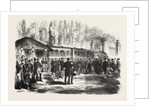 Departure of the Emperor of the French and the Prince Imperial from the Railway Station of St. Cloud, 28 July 1870 by Anonymous