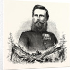 Frederick William, Prince Royal of Prussia, Commander in Chief of the 3rd German Army (Army South), Engraving 1870 by Anonymous