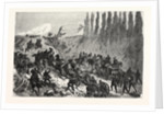Ascension of the Heights of Spicheren by a Prussian Battery, the 6 August 1870 by Anonymous