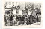 Arrival of a Convoy of French Prisoners in Berlin Germany 1870 by Anonymous