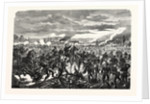 First Prussian Division at the Battle of Pange (Courcelles) 14 August 1870 by Anonymous