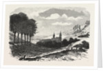 French Camp Near Saint-Avold 1870 by Anonymous