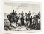Arrest of a French Spy, 24 August, to Metz, 1870 by Anonymous
