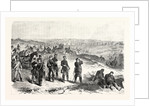 Attaque by the Saxons against Sainte-Marie-Aux-Chênes on 18 August 1870 by Anonymous