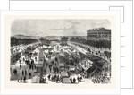 Established Hospital in Tents and in Cars, the Esplanade of Metz, November 1, after the Surrender 1870 by Anonymous