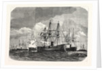 Blockade of the Baltic Sea, Armored French Fleet Near Helgoland, 11 August 1870 by Anonymous