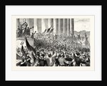 Gambetta Proclaim the Republic, Paris, September 4 1870 by Anonymous