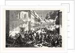 Fighting in the Streets of Mans, January 12 1870 by Anonymous