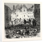 A Street of Laon after the Explosion, September 9 1870 by Anonymous