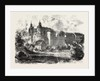 Chateau De Montbeliard, France, Engraving 1870 by Anonymous