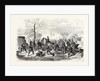 Attack of Bourget by the Prussians on 30 October 1870 by Anonymous