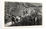 Arrival of French Wounded at the Quai De La Megisserie, January 19, 1871 by Anonymous