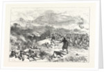 Battle of Kniejesevacz: The First Brigade of Infantry, Under Hafiz Pasha, Attacking the Serbians in a Wood by Anonymous