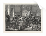 Drawing for the Militia. Painted by J. Phillip. Exhibition of the Royal Academy by Anonymous