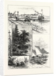 Georgian Bay and the Muskoka Lakes, Scenes About Lake Simcoe, Canada by Anonymous