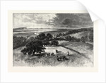 Grand Pre, and Basin of Minas, from Wolfville, Canada by Anonymous