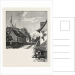 French Canadian Life, a Street in Chateau Richer, Canada by Anonymous