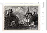 Edinburgh: The Canongate Tolbooth, Scotland by Anonymous