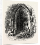 Doorway at Rivaux Abbey by Anonymous