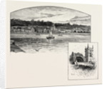 Culross, from the Pier, Culross Abbey by Anonymous