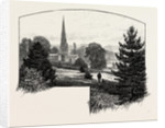 Ashbourne Church by Anonymous