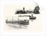 Derby, from St. Mary's Bridge and from the Long Bridge by Anonymous