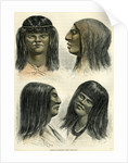 Chontaquiros Indians 1869 Peru by Anonymous