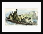 Canoe Fight 1869 Peru by Anonymous