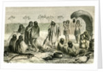 Beach of River Quillabamba 1869 Santa-Ana Peru by Anonymous