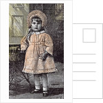 Girl in St Michael's Orphanage Sevenoaks Kent Britain 1892 by Anonymous