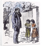 Begging Children 1873 by Anonymous