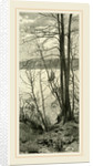 View across the Hudson at Riverside Park, 1891 by Anonymous