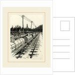 Pennsylvania, an Oil Siding, Petroleum Train, and Pumping Station, 19th century by Anonymous