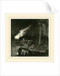 Pennsylvania, A Gas Well, 19th Century, America by Anonymous
