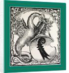 Antoninus, Strassburg, Strasbourg Joh. Grüninger, 1490, dragon, monster by Anonymous