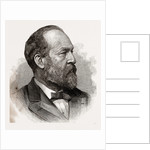 James A. Garfield, President-elect of the United States, 1880 by Anonymous