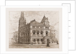 Building of the Long Island Historical Society, 1880, USA by Anonymous