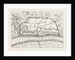 Plan of Roman London, Map, 19th Century by Anonymous