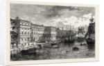 The Old Custom House in 1753 by Anonymous