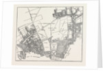 Moorfields And Its Neighbourhood, From A Map of About 1720, 19th Century by Anonymous