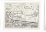 Cripplegate And Neighbourhood, map by Anonymous